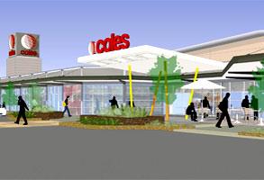 Coles store design