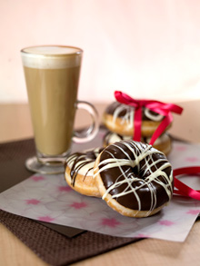 Donut King coffee and donuts