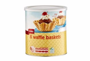 Coles Waffle Baskets