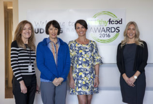 Judges at the Healthy Food Guide Awards