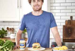 Hayden Quinn for Hellmann's