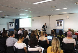 Rod Arenas speaking at the November 2016 FoodLegal Imports and Exports Symposium in  Sydney