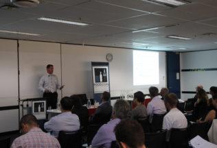 Stuart  Grant speaking at FoodLegal's symposium in Sydney this week.