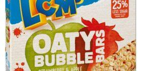 LCMs Oaty Bubble Bars