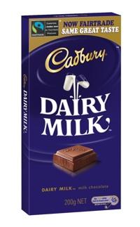 Fairtrade Dairy Milk