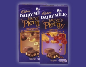 Cadbury Bar of Plenty