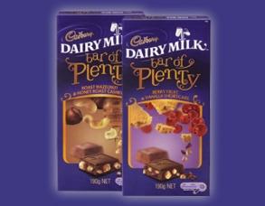 Cadbury Bar of Plenty