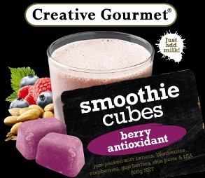 Creative Gourmet Smoothie Cubes - Berry Antioxidant