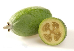 Feijoa: Wikimedia Commons - Credit HortResearch