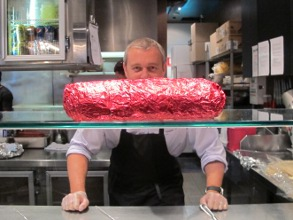 Mad Mex: Clovis Young with the Big Burrito