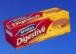 McVities Chocolate Caramel Digestives