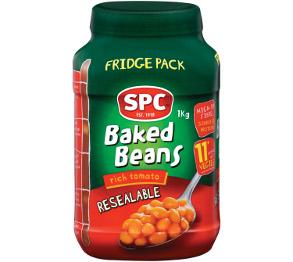 SPC Baked Beans 1kg Fridge Pack