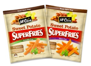 McCain Sweet Potato SuperFries